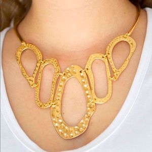 Prime Prowess - Gold Necklace
